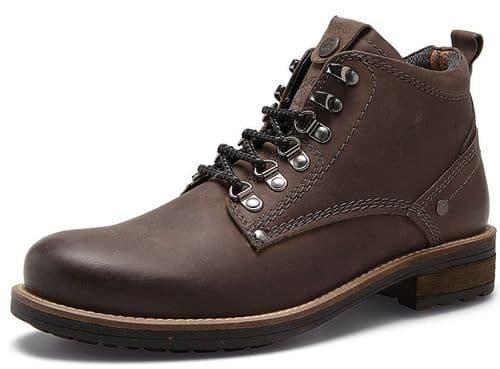 Wrangler Hill Peak Grey Ankle Boots